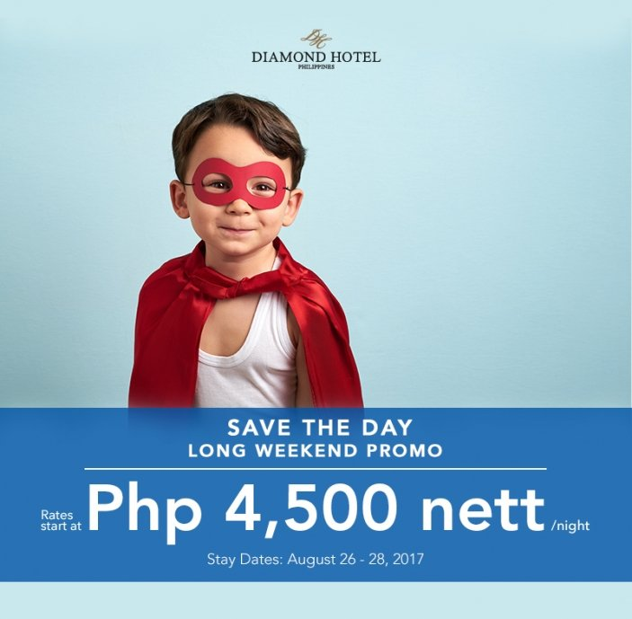 SAVE THE DAY - LONG WEEKEND