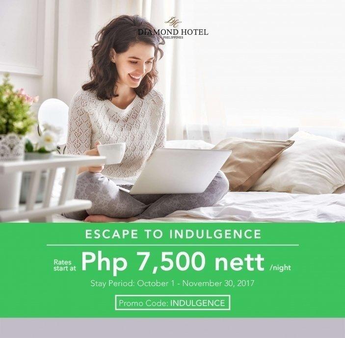 ESCAPE TO INDULGENCE