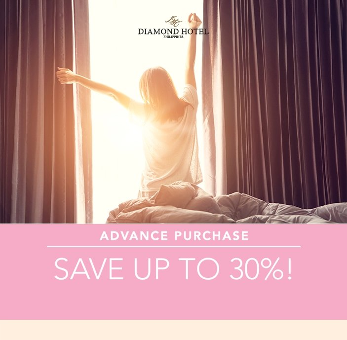 ADVANCE PURCHASE - SAVE UP TO 30% OFF