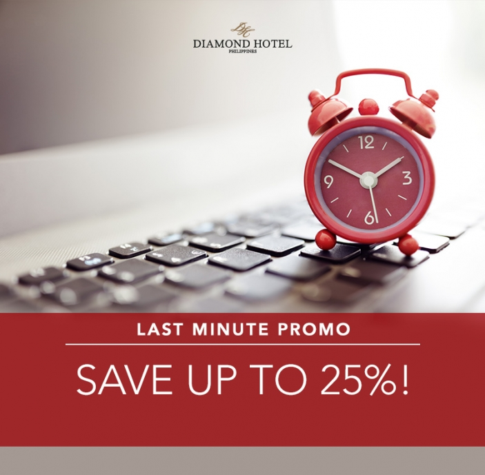 BOOK NOW AND GET 25% OFF