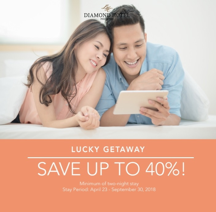 LUCKY GETAWAY -  SAVE UP TO 40%