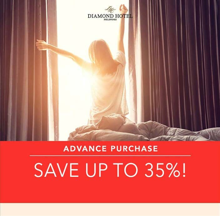 ADVANCE PURCHASE - SAVE UP TO 35% OFF