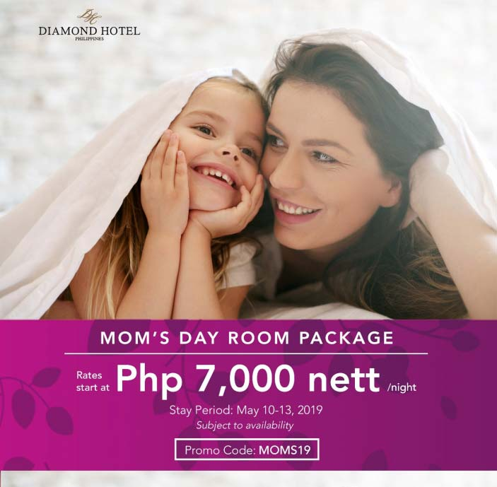 MOM'S DAY ROOM PACKAGE