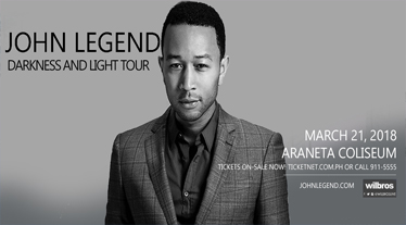 Diamond Hotel - John Legend: Darkness and Light Tour - Top Hotels In Manila