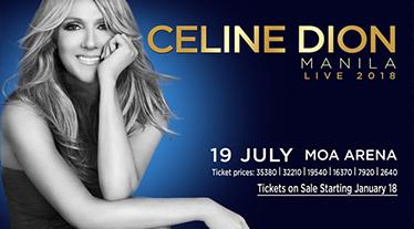 Diamond Hotel - Celiine Dion live in Manila 2018