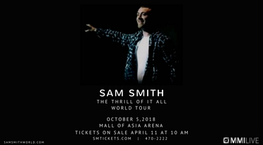 Diamond Hotel - The Thrill Of It All World Tour: Sam Smith Live in Manila 2018 - Top Hotels In Manila