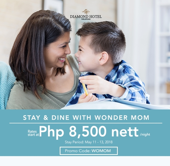 STAY and DINE with WONDER MOM