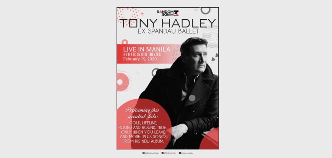 Diamond Hotel  - Tony Hadley Live in Manila