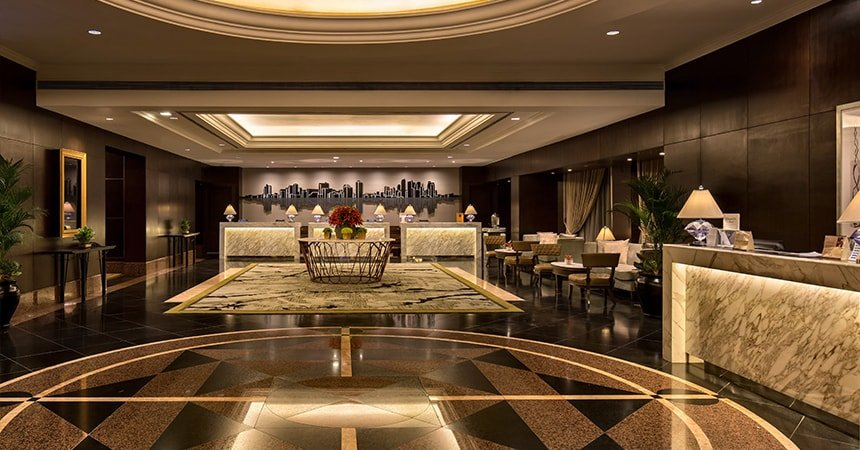 Diamond Hotel - Lobby - Best Hotels In Manila
