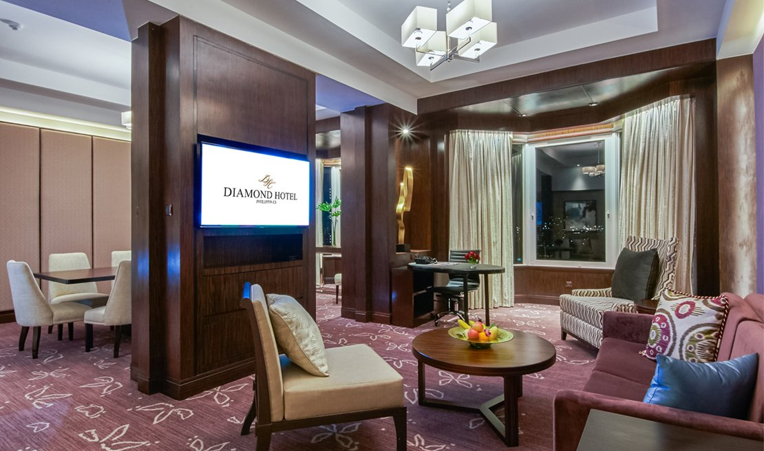 Diamond Hotel - Diamond State Suite - 5 Star Hotels In The Philippines