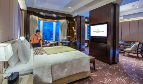 Diamond Hotel - Diamond Suite - 5 Star Hotels In The Philippines