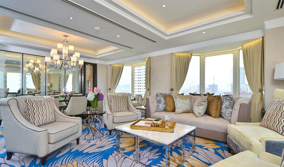 Diamond State Suite 5 Star Hotel Manila Diamond Hotel