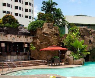 Diamond Hotel - Poolside Bar - 5 Star Hotel In Philippines