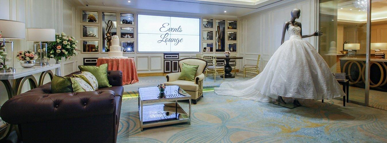 Diamond Hotel - Events Lounge - Manila Hotels 5 Star