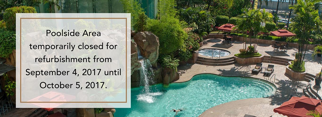 Diamond Hotel - Swimming Pool - Manila Hotels 5 Star