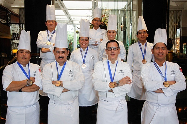 Diamond Hotel - Diamond Hotel Chefs Win Silver and Bronze - 5 Star Hotels In Manila Philippines