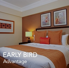<p><strong>Early Bird Advantage</strong></p> 				<ul> 					<li>Book 7 days in advance and get 30% off</li> 					<li>All bookings are non-refundable.</li> 				</ul>