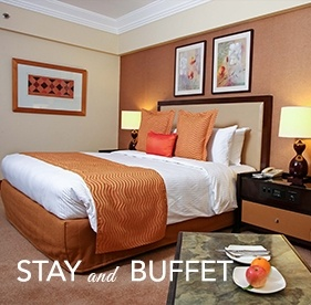<p><strong>Stay and Buffet</strong></p><small>(for Local Residents only)</small> 			<ul> 				<li><span>&rsaquo; &nbsp;</span> Buffet Breakfast and Lunch at Corniche for 2 persons and unlimited Wifi access up to 3 devices</li> 				<br> 				<li><b>Valid until Sept 30, 2016</b></li> 			</ul>