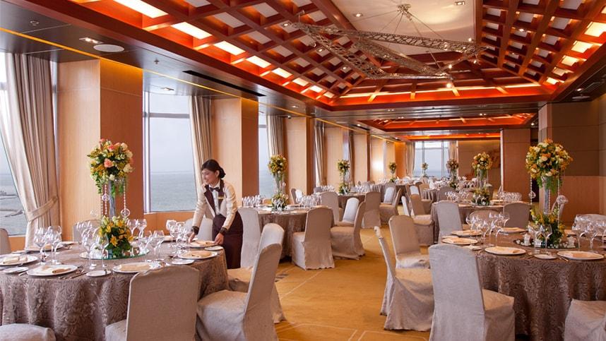 Diamond Hotel Combined Constellation Function Rooms Luxury Manila