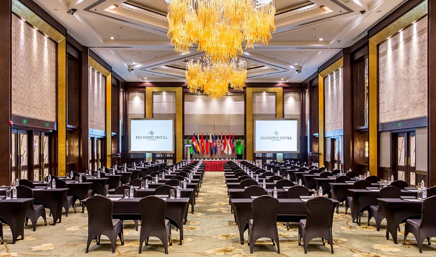 Diamond Hotel - Diamond Ballroom - Five Star Hotel In Manila